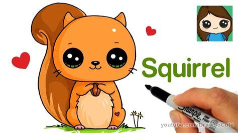 They are highly adapted to the life in water and have a counter their wings can evolve into flippers (1). How to Draw a Squirrel Easy - Drawing tutorial - PaintingTube