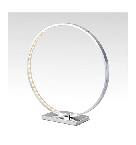 Les Design A Poser Le 224 Poser Design Chrome Led Collection Circle
