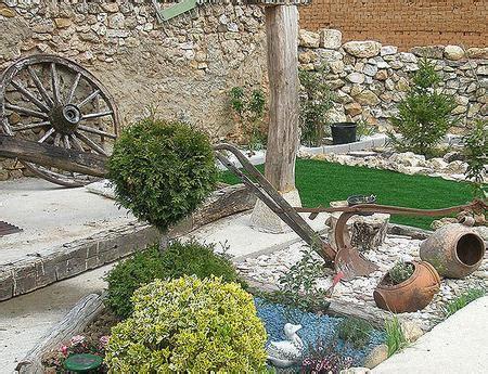 decoracion de jardines rusticos fotos