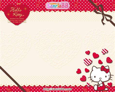 kitty red wallpapers wallpaper cave