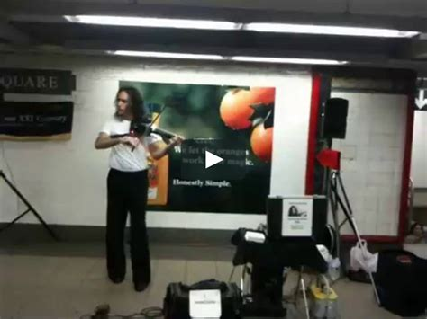 subway musician shreds  tricked  electric violin  vimeo