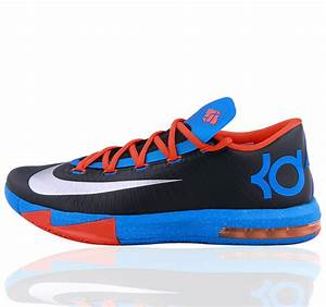NIKE KD VI KD6 Kevin Durant Blue Basketball shoes ...