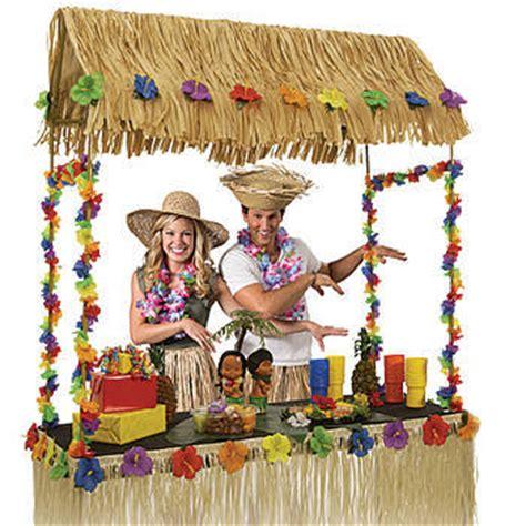 Tabletop Tiki Hut by Luau Themed Baby Shower Ideas Baby Shower Ideas Themes