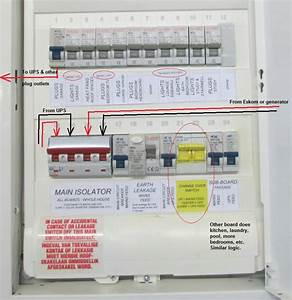 Domestic Switchboard Wiring Diagram Australia
