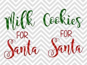 Milk For Santa Clipart - ClipartXtras