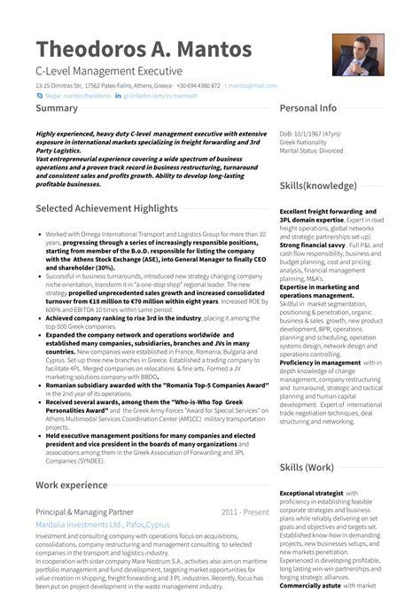 managing partner resume samples templates visualcv