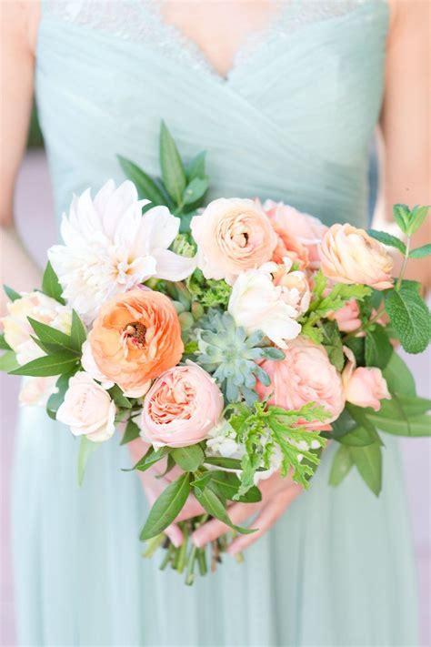 Bridesmaid Dress Mint Green Dress Peach And Mint Wedding