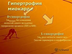 Без гипертонии гипертрофия левого желудочка