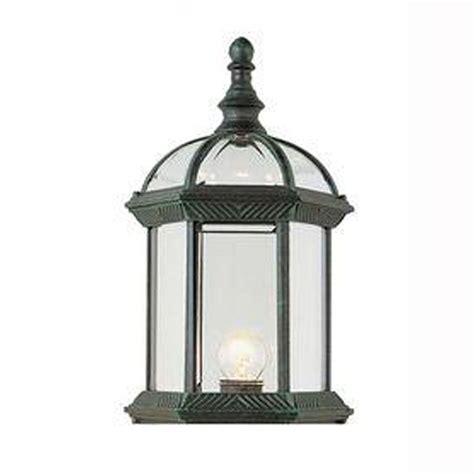 bel air lighting wall mount 1 light outdoor verde green