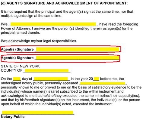 blank power of attorney form ny free new york power of attorney forms pdf word