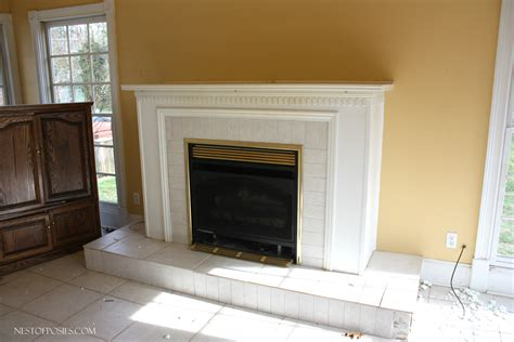 Kitchen Gas Fireplace - kitchen sunroom combo home tour