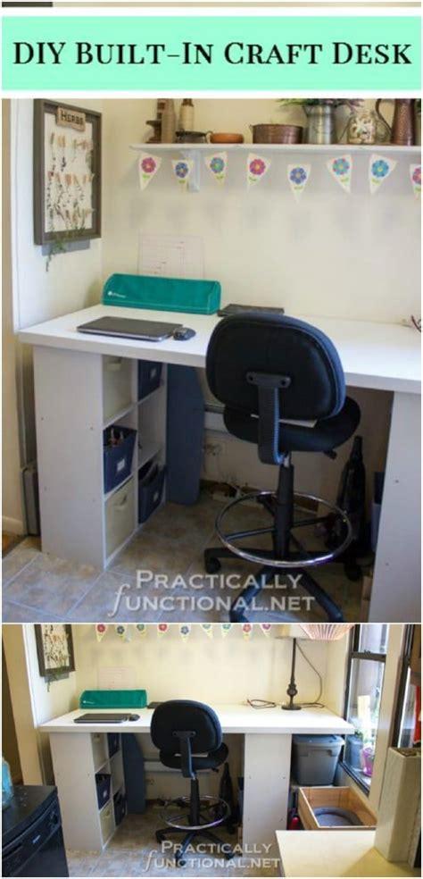 easy  build diy craft desks