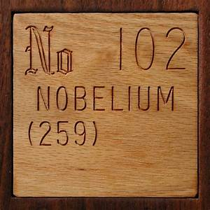 Facts, pictures, stories about the element Nobelium in the ...