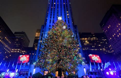 christmas tree lighting nyc 2017 rockefeller center christmas tree to come from