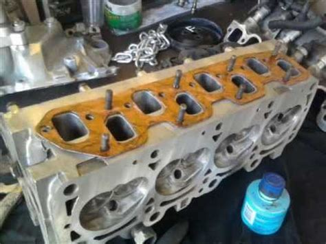 motor chrysler  lts cambio de junta de cabeza head