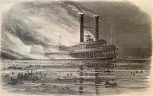 Ss Sultana Explodes Carrying 2 400 Released Union