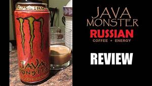 Java Monster Russian - Energy Drink Review  110