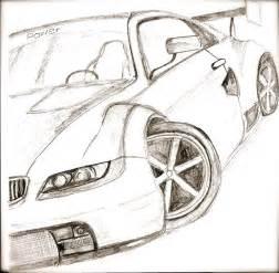 Sports Car Drawings