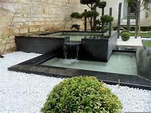 amenager jardin devant maison affordable cheap idee deco With good amenagement terrasse et jardin photo 15 deco maison original