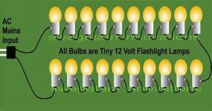 Make 230 Volts Bulb String Light Circuits For Diwali And Christmas