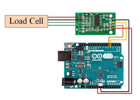 tutorial to interface hx711 balance module with load cell 9 steps with