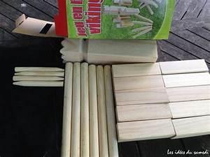 Grand Jeu Extérieur : jeu en bois pour animer les soir es d 39 t kubb jeu su dois ~ Melissatoandfro.com Idées de Décoration