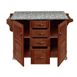 granite top portable kitchen island