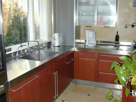 stainless steel countertop countertop options let s it