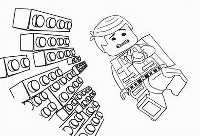 Coloring Brick Lego Block Pages Stain Getcolorings