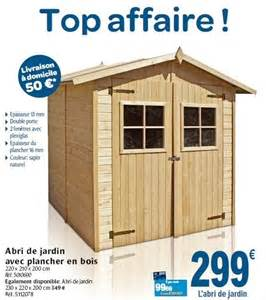 Abri Jardin Carrefour Fr by Carrefour Promotion Abri De Jardin Avec Plancher En Bois