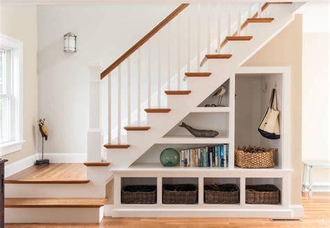 Under Stair Bookcase Leaning Bookshelf Lovely White Ladder