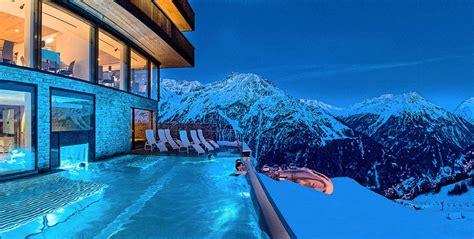 skihotel oetztal tirol hotel soelden oetztal aussenschwimmbad