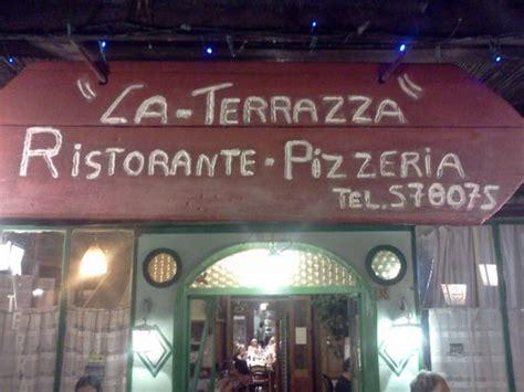 pizza la terrazza la terrazza picture of ristorante pizzeria la terrazza