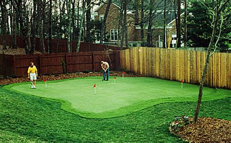 Cost Of Backyard Putting Green - houston putting greens houston synthetic putting greens