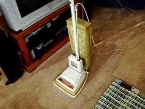 1974 Eureka Powertouch Cordaway Upright Vacuum Cleaner