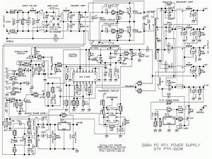 Switching Power Supply Schematic Diagram