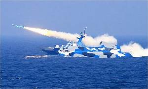Chinese Anti-Ship Cruise Missile Firing as Part of ...