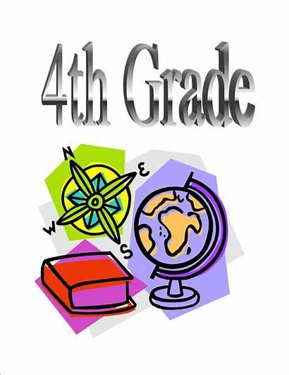 Grade Clipart 4th Fourth Clip Teacher Social