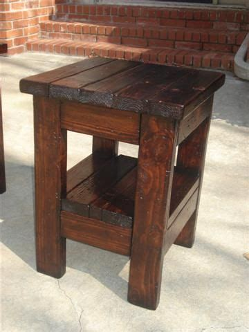 rustik 2x4 dimensions 2x4 pine wood end table rustic farmhouse style free plans wood stain tutorial by white