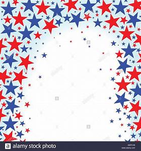 A red white and Blue Stars background Stock Vector Art ...