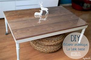 Customiser Une Table En Bois : id es diy 7 fa ons de customiser une table ikea lack ~ Dailycaller-alerts.com Idées de Décoration