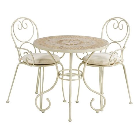 French Bistro Table Set & Bluff Canyon 3 Piece French Café