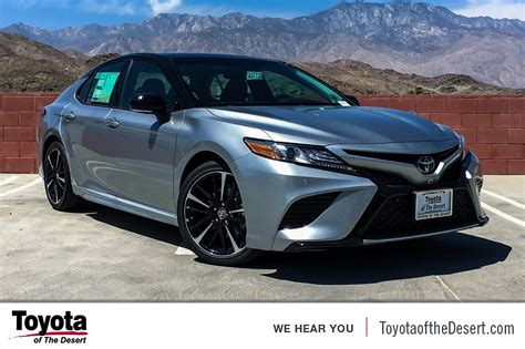toyota camry xse  dr car  cathedral city