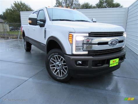 2017 Oxford White Ford F350 Super Duty King Ranch Crew Cab