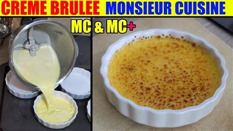 Creme Brulee Recette Monsieur Cuisine Plus Lidl