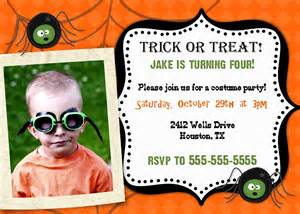 Halloween Potluck Invitation by Bear River Photo Greetings Halloween Party Invitations