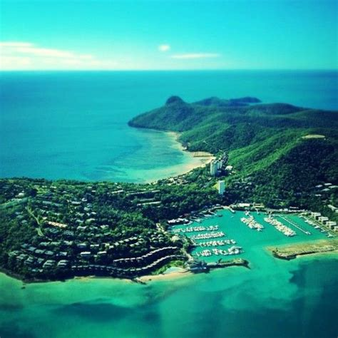 Memories of Hamilton Island #whitsundays #aerial #ocean ...