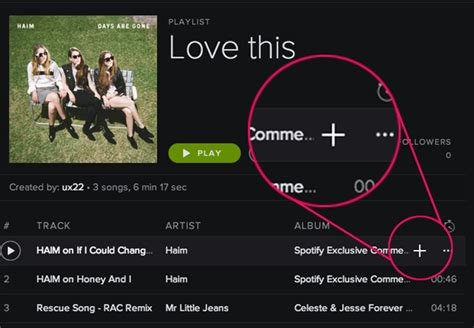 I Love You, Spotify … Now Change