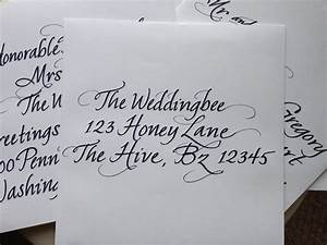 calligraphy return address labels weddingbee With font for return address labels wedding invitations