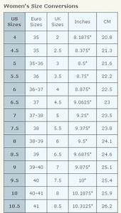 Metric Shoe Size Conversion Chart What 39 S Your Shoe Size How To Convert Your Shoe